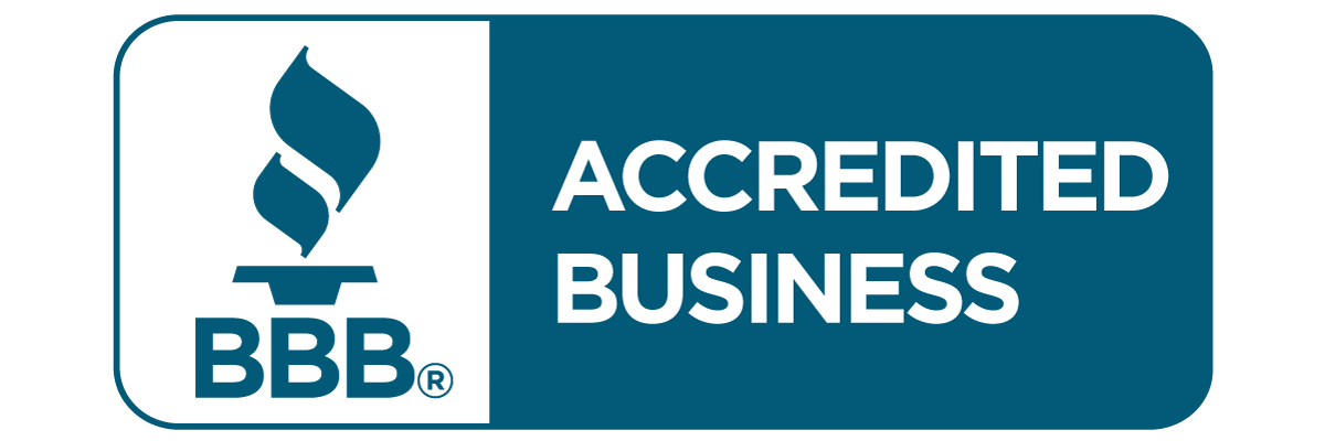 Accredited by the Better Business Bureau with an A+ rating