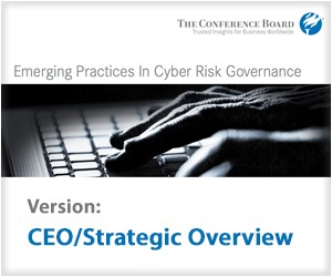 Emerging Practices in Cyber-Risk Governance -CEO