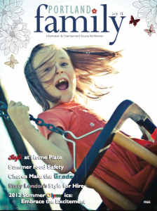 Portland Family magazine - July 2012