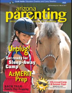 Arizona Parenting magazine - March 2017