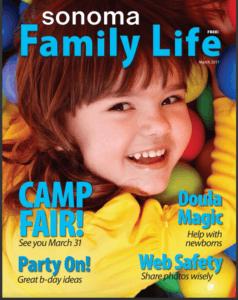 Sonoma Family Life magazine - March 2017