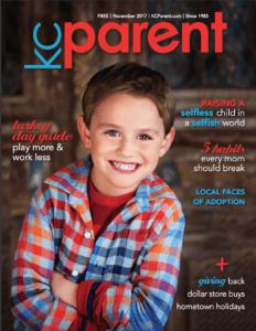 KC Parent magazine - Nov 2017
