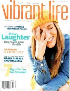 Vibrant Life magazine - Stress Signs