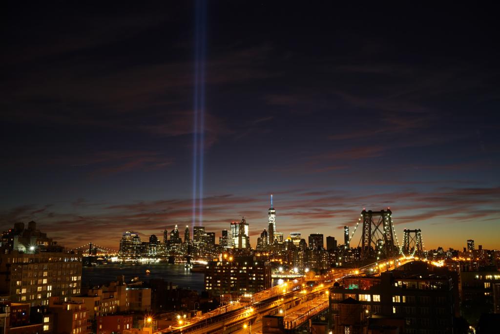 9-11 Light Tribute/NYC