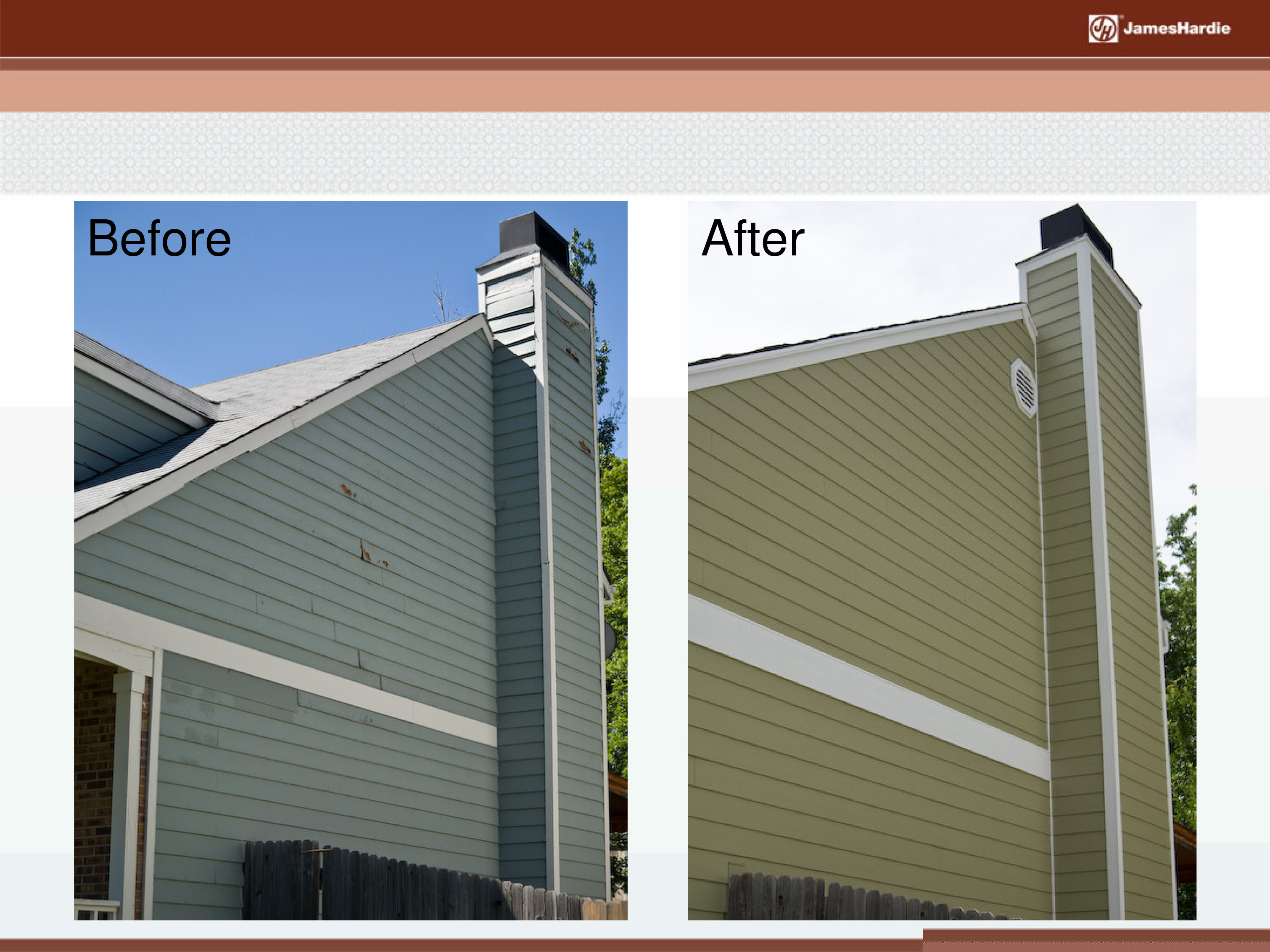 Before and After James Hardie Siding 19