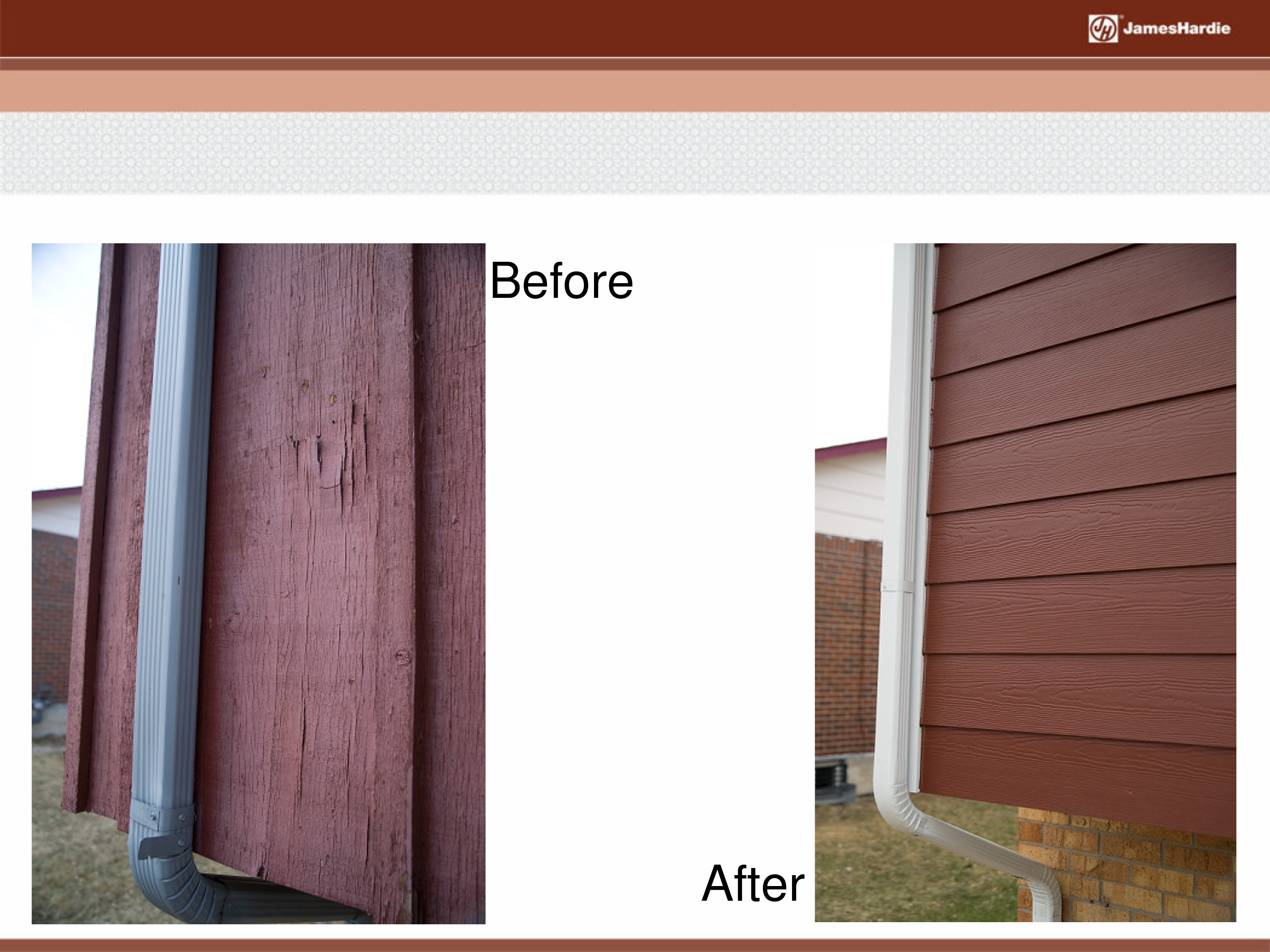 Before and After James Hardie Siding 40