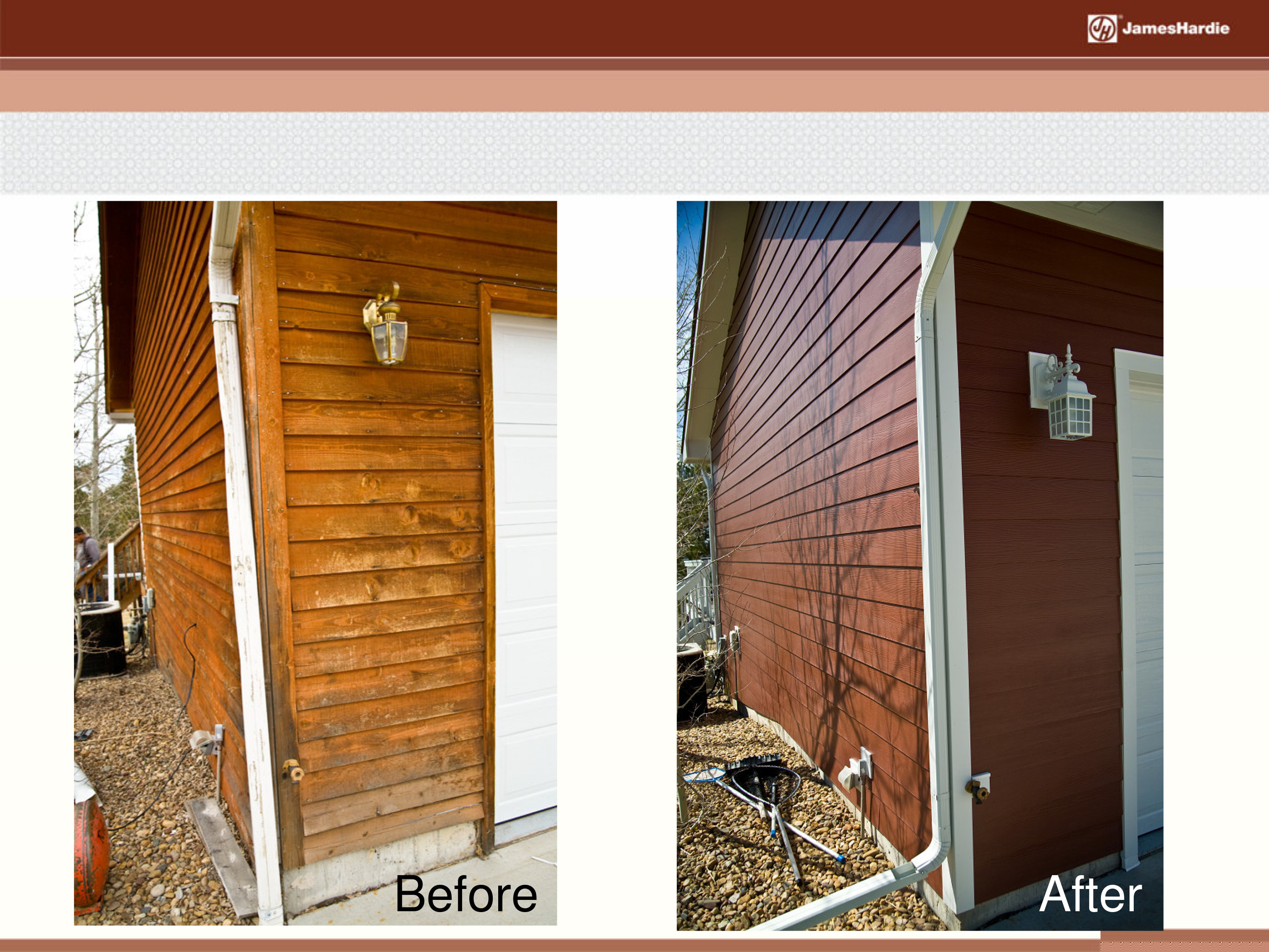 Before and After James Hardie Siding 7