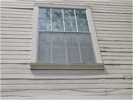 Wood Rot on House Without James Hardie Siding