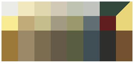 James Hardie Color Palette