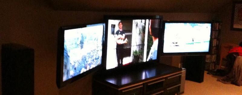 Amazing Game Room TV's