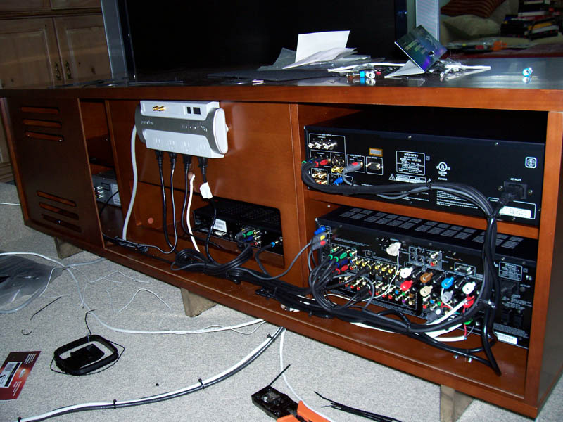 Clean Equipment Wiring
