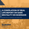 A COMPILATION OF REAL LIFE REPORT ON SARS BRUTALITY ON NIGERIANS (First Hand Report)