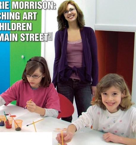 Laurie Morrison, Main Street School of Art, Downtown Tucker, children's art