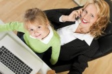 mompreneur, mom & child, work at home, wahm