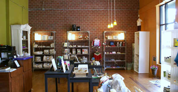 Green Mosaics store, Downtown Decatur, eco-friendly store