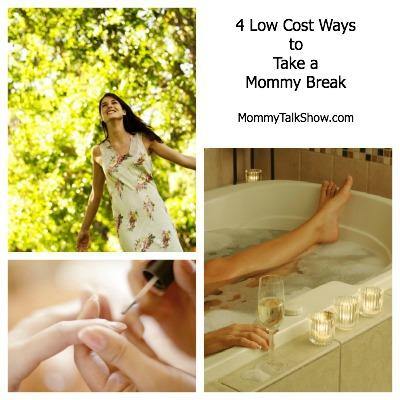 How to Take a Mommy Break, Need a mommy break, low cost ways to take a mommy break, moms and stress, mommy brain