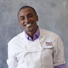 Marcus Samuelsson, iron chef,