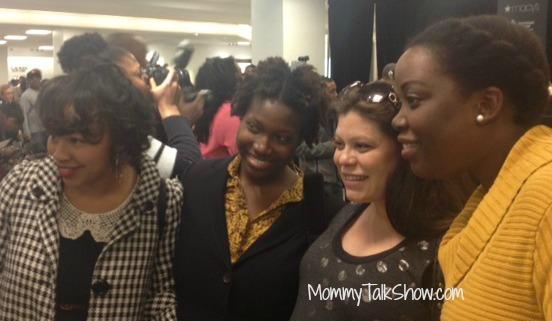 Blogger Group Photo: @babyshopaholic @theatlgo2girl @brittont13 @mommytalkshow