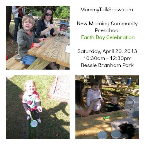 new morning community preschool, Atlanta Earth Day, Atlanta Earth Day Celebration, teach kids about Earth Day, teach toddlers about Earth Day