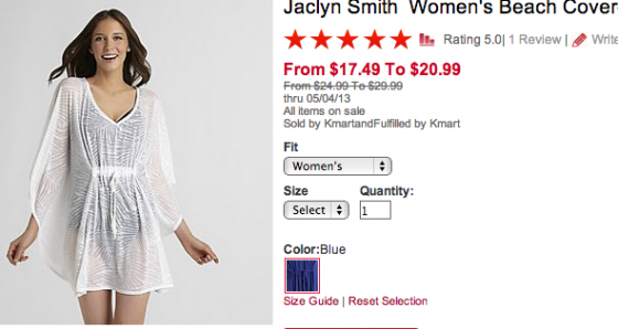 Jaclyn Smith Cover Up