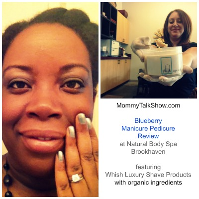 Blueberry Manicure Pedicure Review at Natural Body Spa Brookhaven