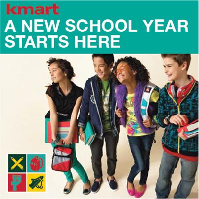 A New School Year Starts Here #KMartBackToSchool