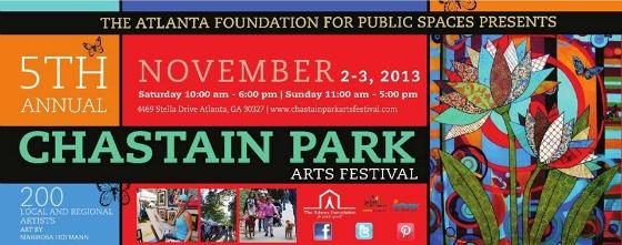 2013 Chastain Park Arts Festival ~ MommyTalkShow.com