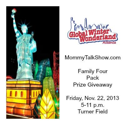 Global Winter Wonderland Atlanta 2013 Family Prize Pack Giveaway ~ MommyTalkShow.com
