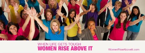 Use Your Voice #WomenRiseAboveIt - MommyTalkShow.com