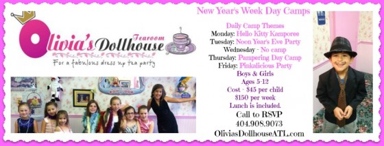 2013 Winter Break Camps in Atlanta ~ MommyTalkShow.com
