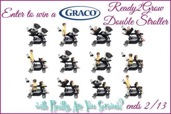 Win Graco Ready2Grow Double Stroller ~ MommyTalkShow.com