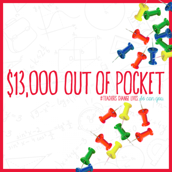Teachers Spend Out Of Pocket