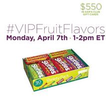 #VIPFruitFlavors Twitter Party April 7th 1-2 p.m. ~ MommyTalkShow.com