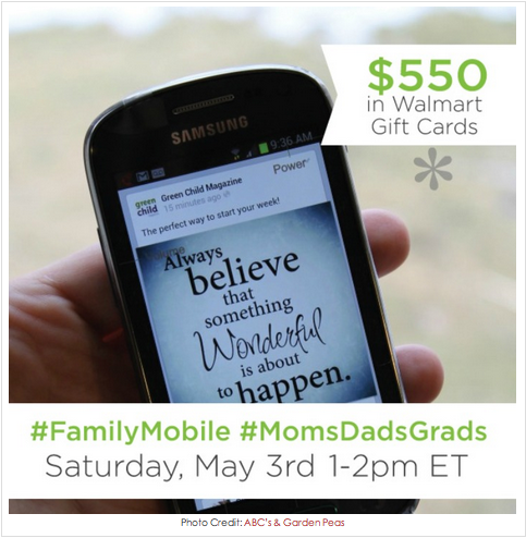 Join Me at the #FamilyMobile #MomsDadsGrads Twitter Party ~ MommyTalkShow.com
