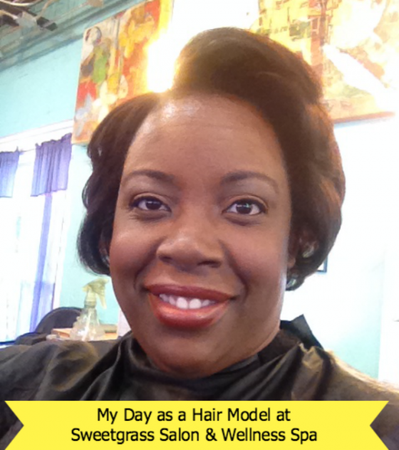 My Day as a Hair Model at Sweetgrass Salon and Spa ~ MommyTalkShow.com