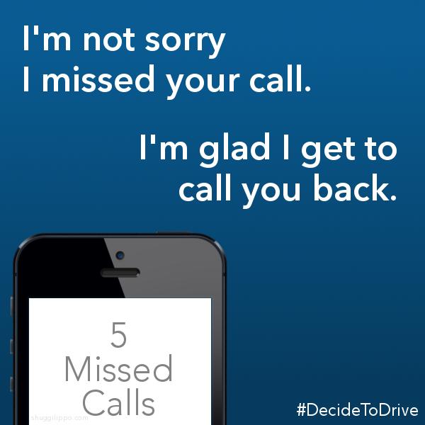 #DecideToDrive