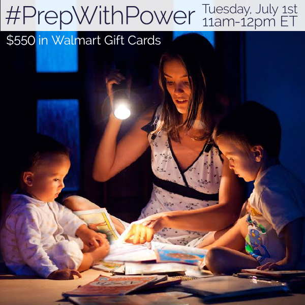 Join me at the #PrepWithPower Twitter Party ~ MommyTalkShow.com