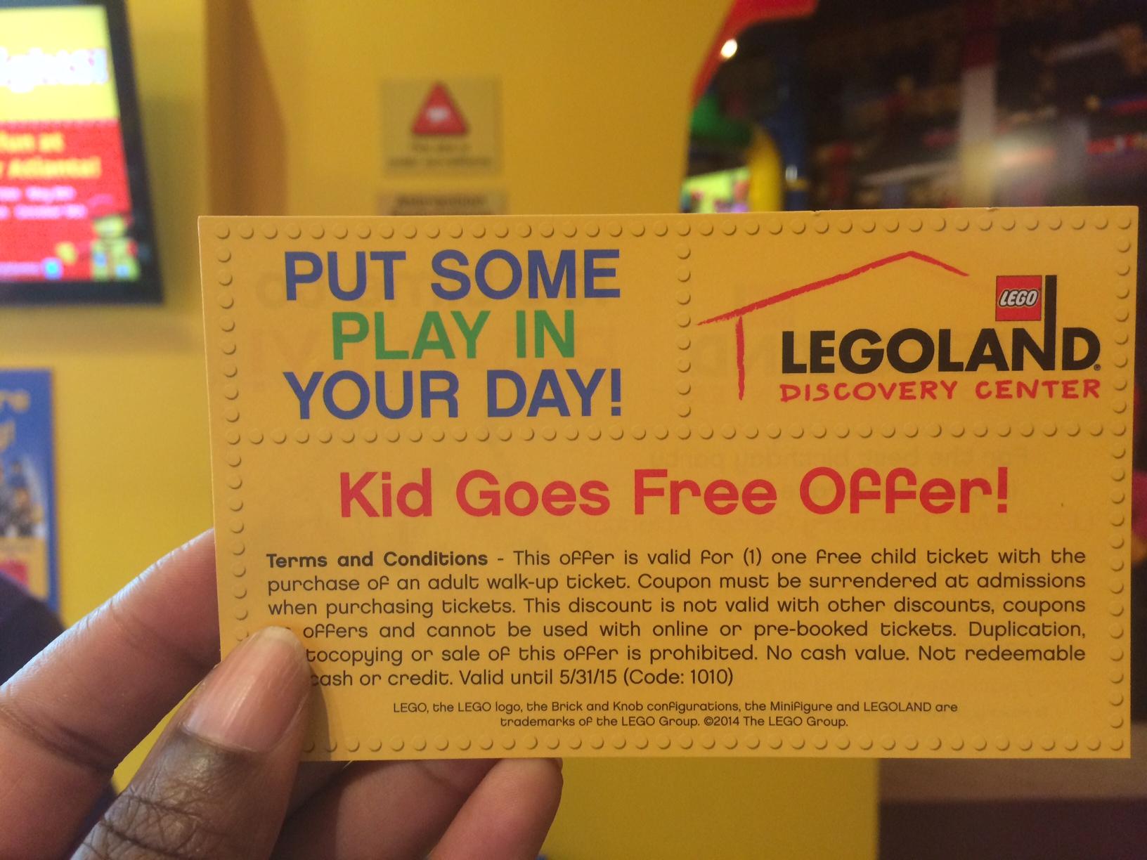 July 2014 Legoland Discovery Center Atlanta Events