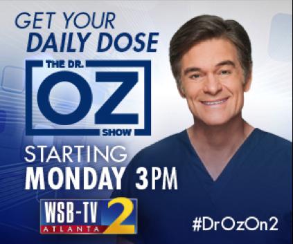 Watch Dr. Oz to WSB-TV and Meet Him at Downtown Atlanta Health Expo #DrOzOn2 ~ MommyTalkShow.com