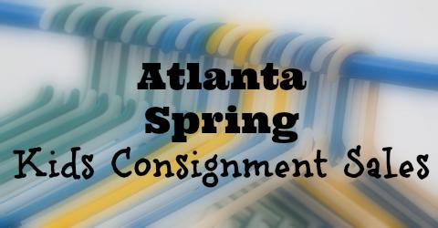 Atlanta Spring Kids Consignment Sales