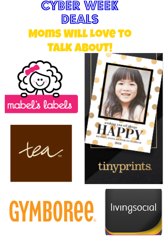 Cyber Week Deals Moms Will Love to Talk About! ~ MommyTalkShow.com