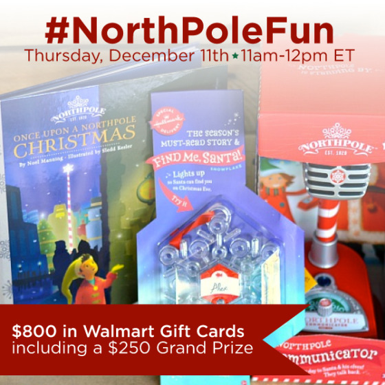 #NorthPoleFun-Twitter-Party-12-11-11amEST