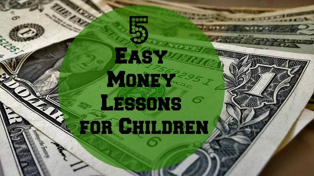 5 Easy Money Lessons for Children ~ MommyTalkShow.com