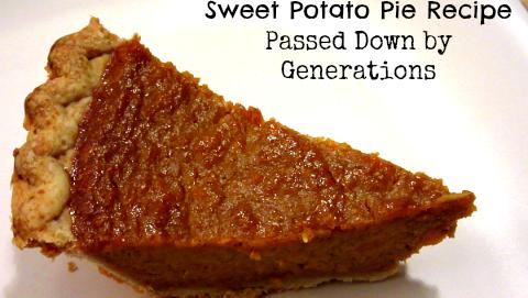 Sweet Potato Pie Recipe Featured