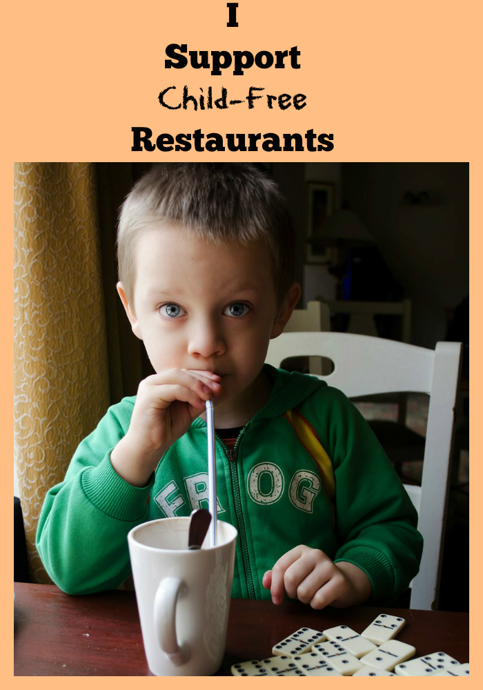 Child Free Restaurants