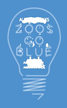 Zoo Goes Blue