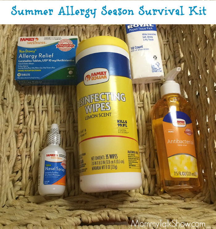 Summer Allergy Season Survival Kit