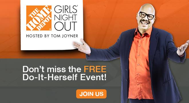 Home Depot Girls Night Out