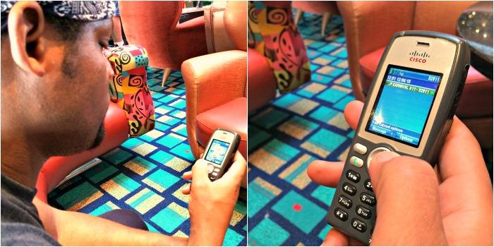 Camp Ocean Mobile Phone