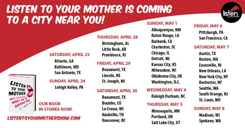 LTYM Tour Schedule